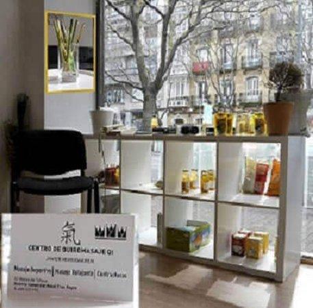 Centro massaggi e osteopatia Qi: Foto desde el interior