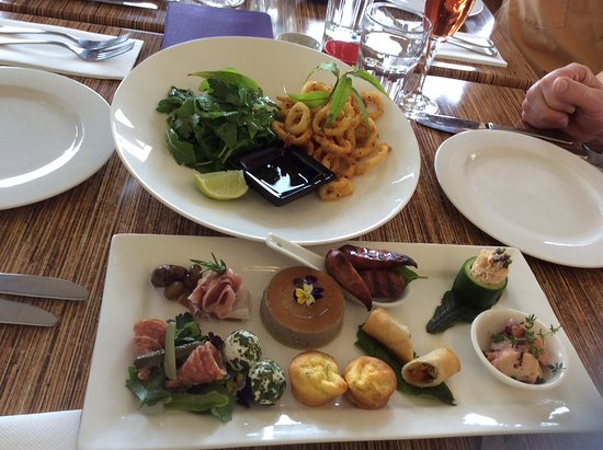Willung, Australia: Superb entrees