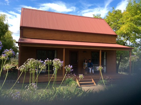 Willung, Australia: One of the cottages that you can stay in, there are a few choices all well set up .