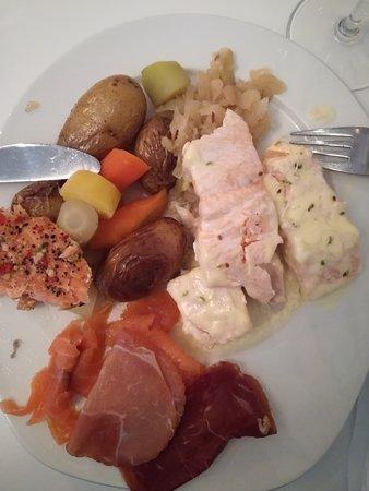 Egersund, النرويج: petit dejeuner