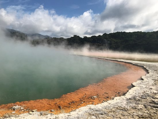 Waiotapu Boardwalk/ Mud Pool