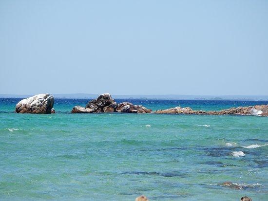 Meelup Beach: Rocks at Meelup