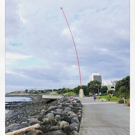 New Plymouth, Yeni Zelanda: Wind Wand