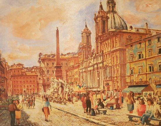 La vera cucina romana a piazza navona picture of la for Cucina romana rome