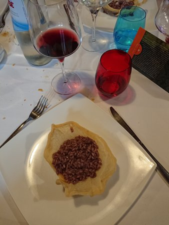 Valgatara, Italia: Risotto all'Amarone
