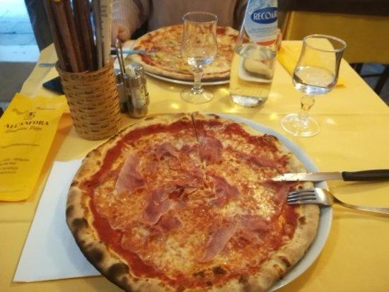 Pizzeria Trattoria all'Anfora : pizza prosciutto