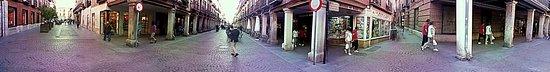 Calle Mayor: Panorámica con calles aledañas