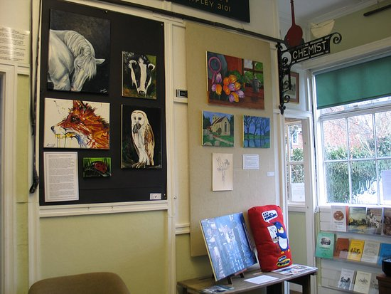 Ripley, UK: The exhibition of local prisoners' art Feb 2018