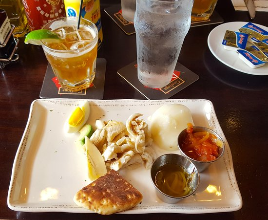Hamilton, Bermuda: Traditional Bermudian Breakfast - Codfish & Potato with Dark and Stormy