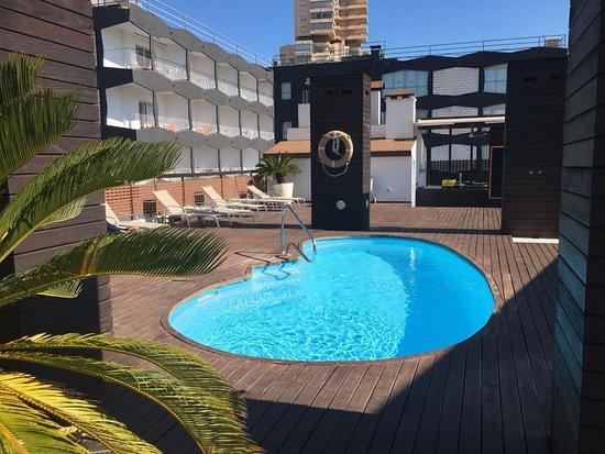 Hotel Agir: the pool (plonge)
