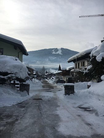 Radstadt, Austria: View from the driveway