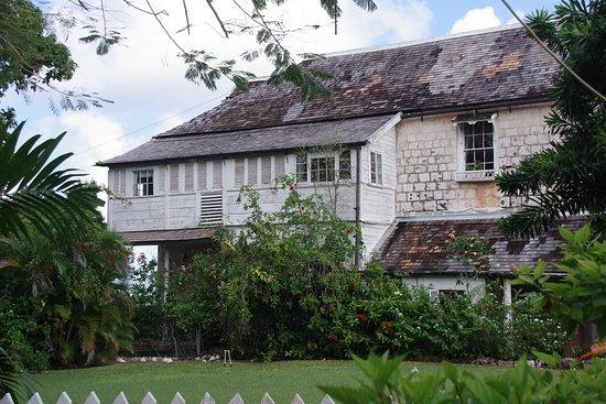 Greenwood Great House: vue de l'entrée actuelle