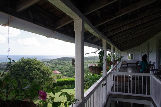 Greenwood Great House: vue terrasse