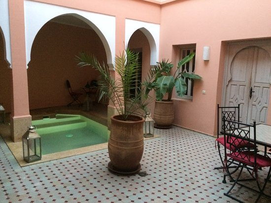 Riad Tahani: inside the riad