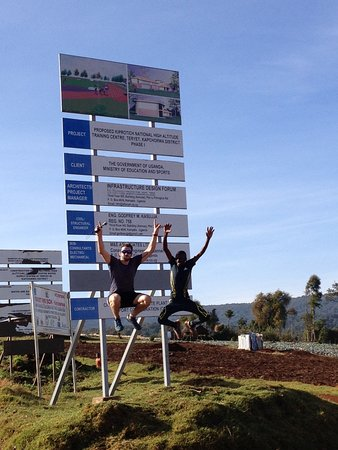 Home of Friends: Participant Uganda Runners Experience celebrating to reach National High Altitude Training Cente