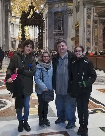 Rome City Tours with Maria Claudia & Co.: In Vatican City with Paola (guide)