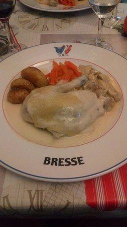 Ain, Frankreich: volaille de Bresse