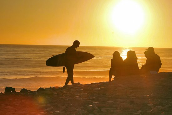 cdc5f6194f Sunset surf session at Mysteries. - Picture of Easy Surf Maroc ...
