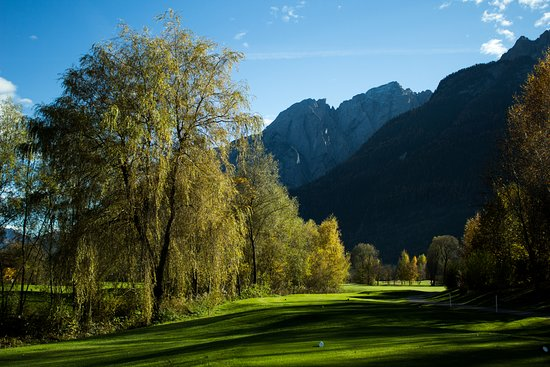 Lavant, النمسا: Blick vom Tee1