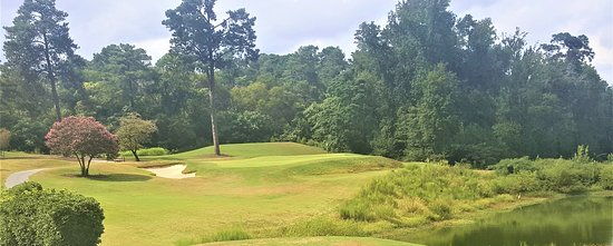 Augusta, GA: Number 16, Par 3, 159 yards