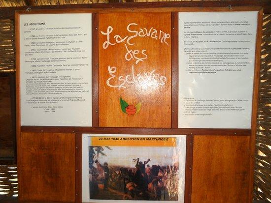 la savane des esclaves