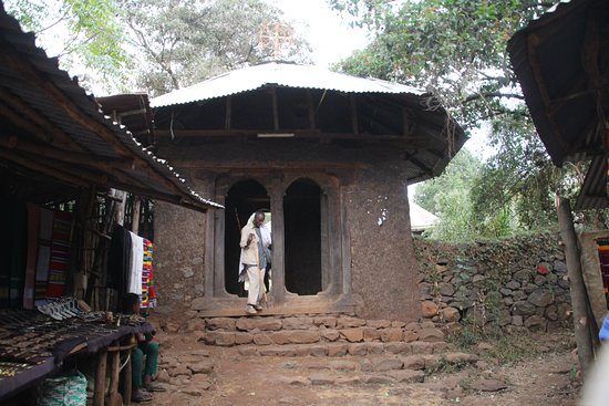 Amhara Region, Etiopia: Eingang