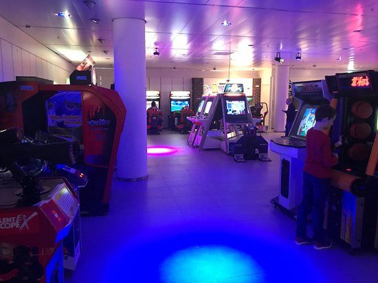 Zoetermeer, The Netherlands: Arcade hal