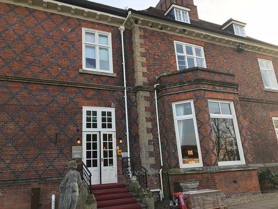 Albrighton, UK: front door