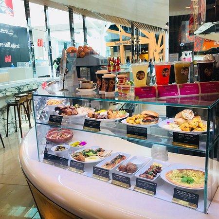 Comptoir libanais london westfield london shopping - Comptoir restaurant london ...