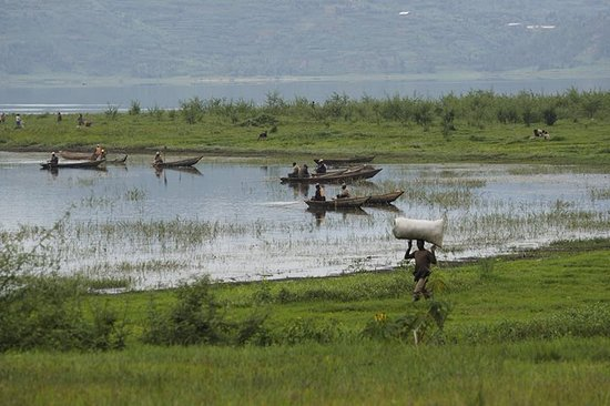 Northern Province, Rwanda: activities at Lake Ruhondo