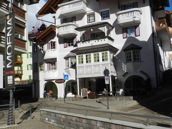 Antico rione di Moena: Una belle casa del centro