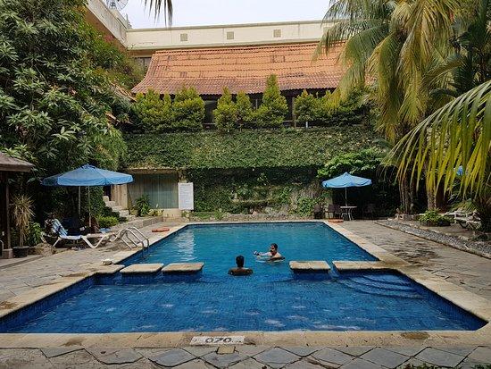 Goodway Hotel Batam: Hotellets basseng