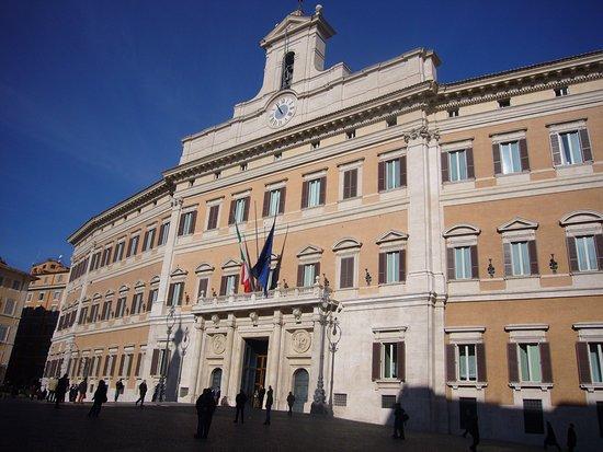 Palazzo montecitorio picture of palazzo montecitorio for Camera dei deputati palazzo montecitorio