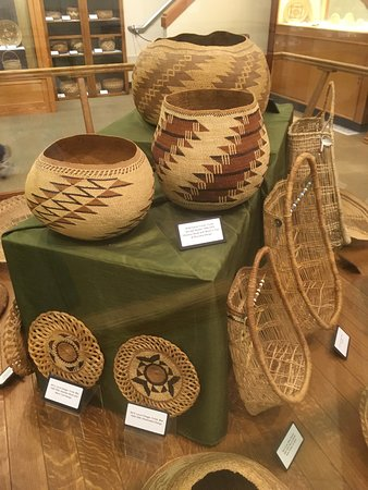 "Port Angeles Visitor Center: Woven ""bowls"""