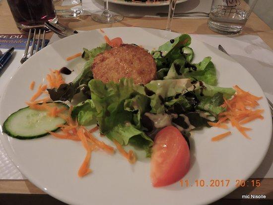 Hotel Restaurant La Pietra: Fromage de chèvre crudités