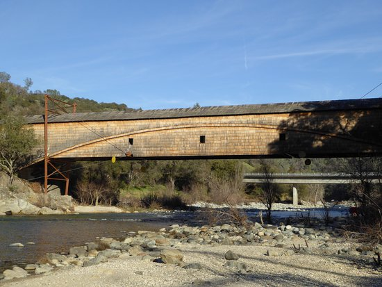 Penn Valley, CA: Another view from Downstream.