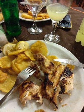 El Bifachon: pollo grille con papas españolas