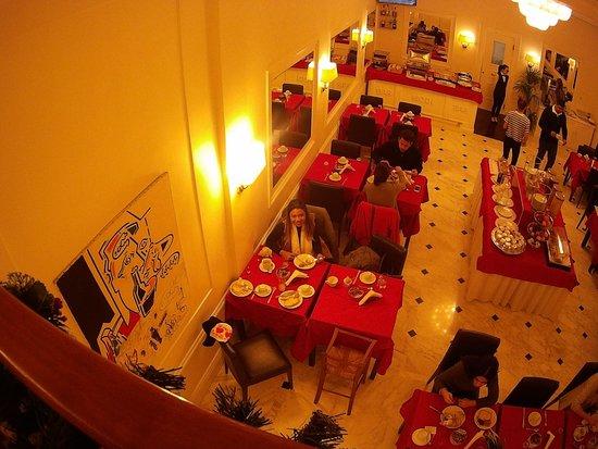 Hotel Modigliani: café da manhã