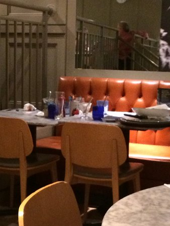 Four Tables Not Cleared While We Were Eating Our Dinner