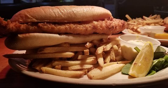 Lisbon, OH: One of the all-time favorites...our famous fish sandwich!