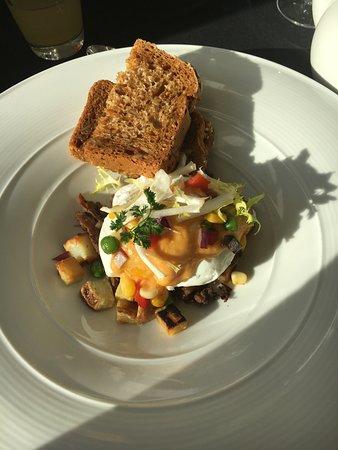 Ste. Anne's Spa: Breakfast