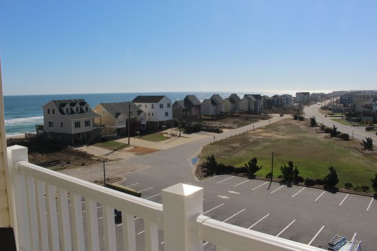 From Balcony Of Side Ocean View Room Picture Of Hilton Garden Inn Outer Banks Kitty Hawk
