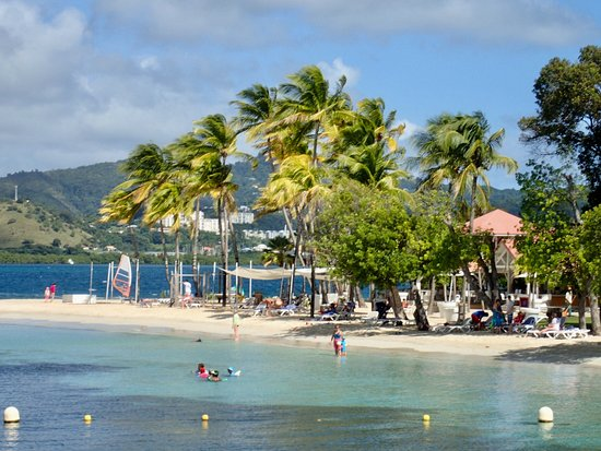 Club Med Les Boucaniers - Martinique: Beach restaurant area