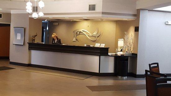 Copley, OH: Reception area