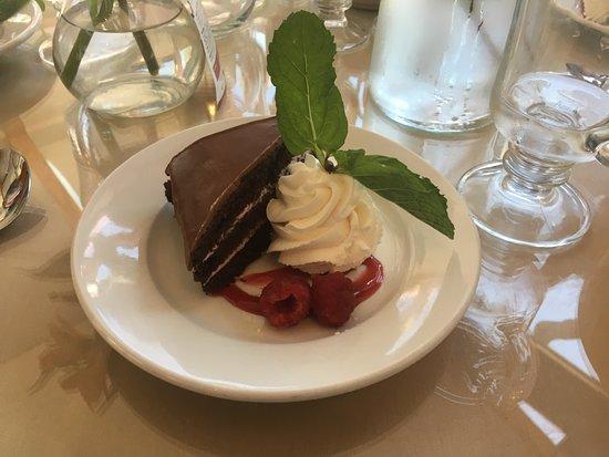 Mason, NH: Double chocolate and Raspberry Cake