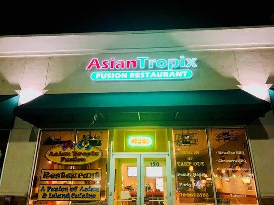 Pueblo West, CO: Asian Tropix exterior