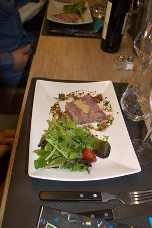 Cenac-et-Saint-Julien, France: terrine