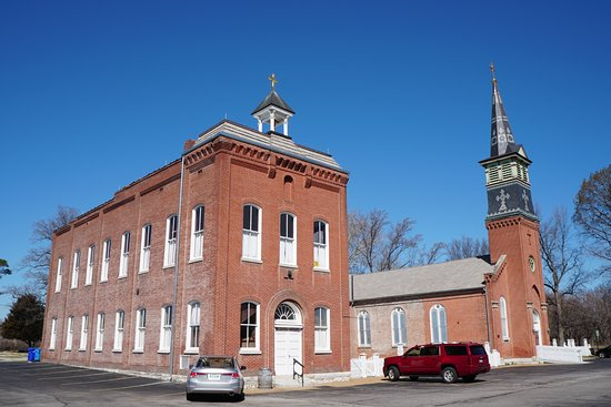 Florissant, MO: The Old Schoolhouse and Church