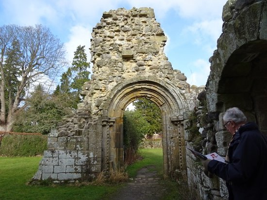 Jervaulx, UK: Norman gateway