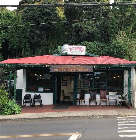 Polli S Mexican Restaurant Menu